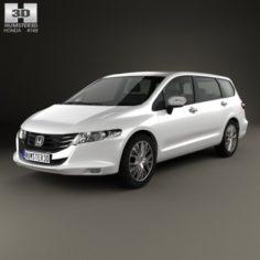 Honda Odyssey JP 2008 3D Model