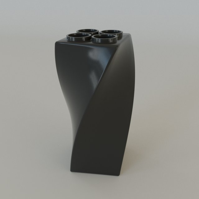 Original pen holder 3D Model