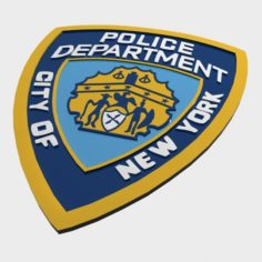 NYPD Police Department 3D Model