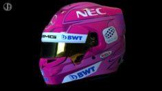 OCON Bell racing helmet 2018 3D Model