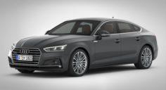 Audi A5 Sportback 2018 detailed interior 3D Model