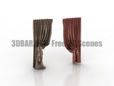 Curtains 3D Collection