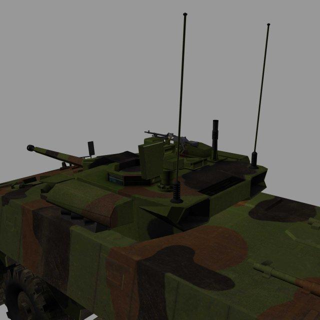 VBCI 2 3D Model