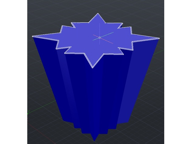 Cool 3d Solid for Vase Thingy 3D Print Model