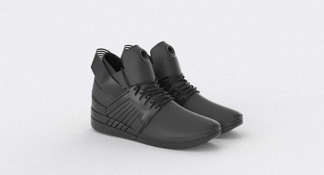 Supra Skytop 5 Shoes 3D Model
