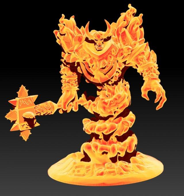Ragnaros 3D Model