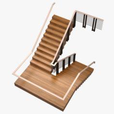 Stair 05 3D Model