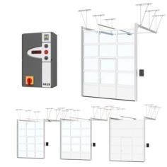 Automatic gate Hormann 3D Model