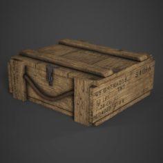 M67 Grenade Crate 3D Model