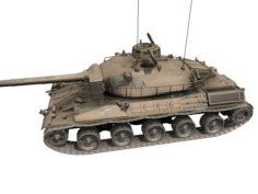 French Tank AMX-30 3D Model
