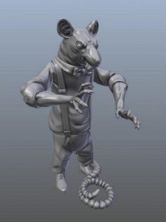 Mafia Rat Free 3D Model