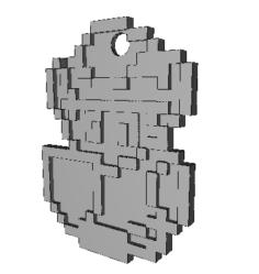Link keychain 3D Model