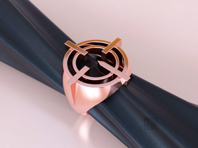 Ring STL 3D Model