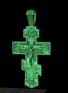Jewellery cross 3D Model