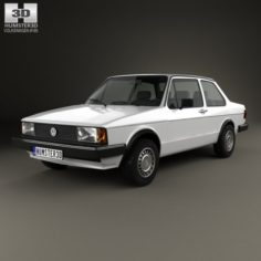 Volkswagen Jetta 2-door 1979 3D Model