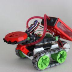 SMARS Firefighter MOD 3D Print Model
