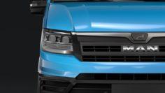 MAN TGE Van L3H3 2018 3D Model