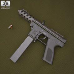 Intratec TEC-9 3D Model