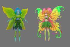 Flower sprite 3D Model