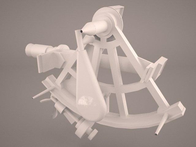 Sextant 3D Model