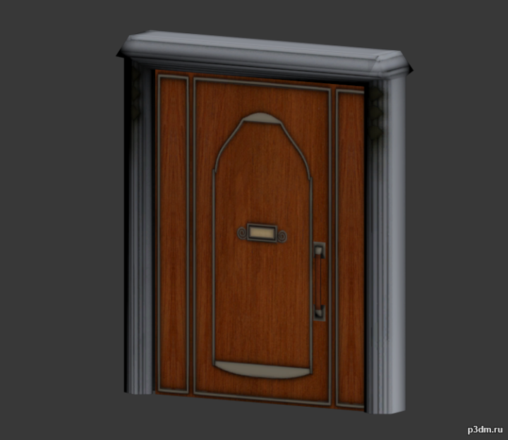 High Rent Door 3D Model