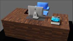 Table Setup 3D Model