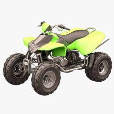 Rocky Mountain ATV 03 3D Model