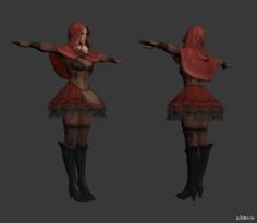 Sheva Alomar (Fairy Tale) 3D Model
