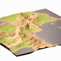 Mountain 01 HIGHPOLY 3D Model