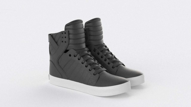 Supra Skytop 1 Shoes 3D Model