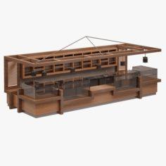Bar Set 07 3D Model