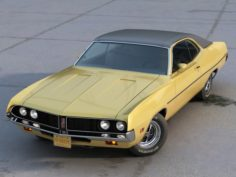 Torino Coupe 1971 3D Model