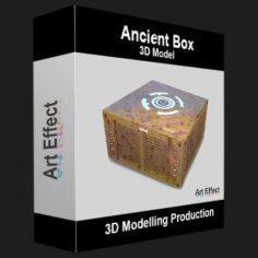 Ancient Box 3D Model