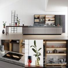 VALCUCINE Genius Loci Kitchen                                      3D Model