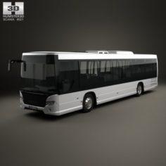 Scania Citywide LE Bus 2011 3D Model