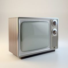 USSR Lamp TV 3D Model