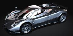 Pagani Zonda F 3D Model