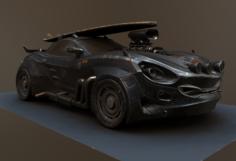 Vulture Scifi 3D Model