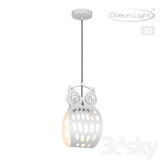 Suspension ODEON LIGHT 4006/1 ULVIN                                      Free 3D Model
