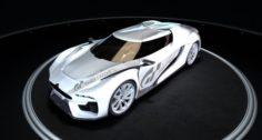 Citroen by GT 3D Model