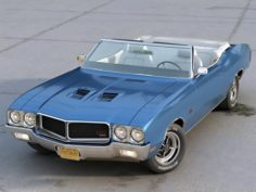 Buick GS Convertible 1970 3D Model