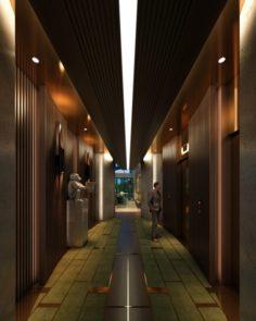 CB Hotel Lobby 3D Model