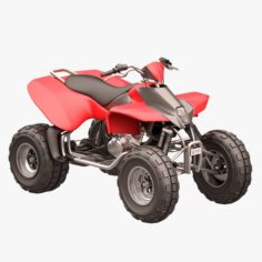 Rocky Mountain ATV 01 3D Model