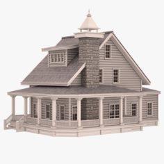 Cottage 04 3D Model
