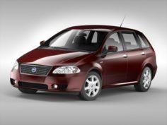 Fiat Croma 2005 – 2007 3D Model