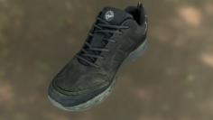 Worn sneaker shoe low poly model 3D Model