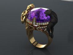 Instinto magerit ring 3D Model