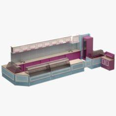 Bar Set 05 3D Model