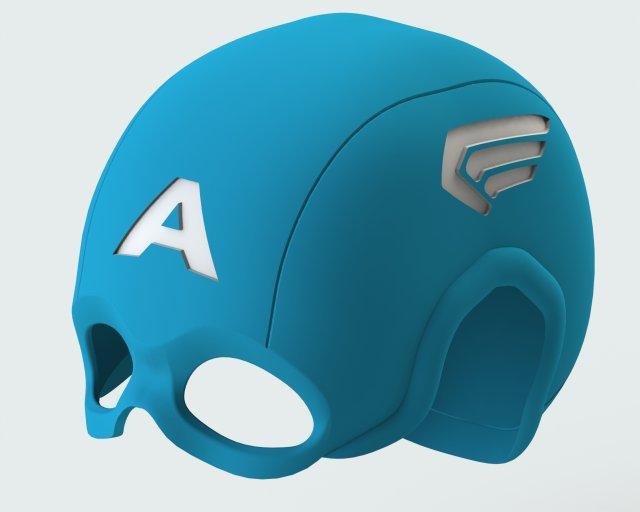 Capitan america avengers 3D Model