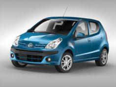Nissan Pixo 2009 3D Model